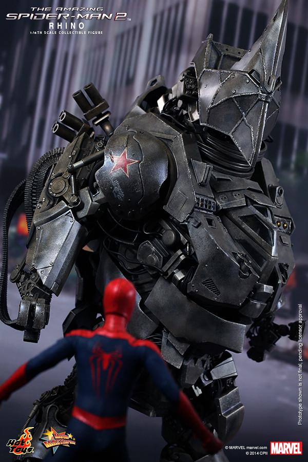Hot Toys 公佈《蜘蛛人驚奇再起2:電光之戰》犀牛人 Rhino 情報圖