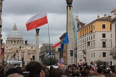 IMG_8931 (Armend Kabashi) Tags: world street people cloud pope vatican rome church saint canon john francis paul europe catholic flag ceremony christian peter benedict canonisation