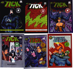 The Tick Collector Chase Chromium Cards 1997 (vsndesigns) Tags: boy two color stone set by naked cards one for wooden back tv funny comedy comic eli with very little ben box deluxe super images we story glossy card 80s hero heroine chase 1997 were format merchandise covers about 16 them these tick brief six limited edition per issues making rare each 90s released additional packed summary thetick the edlund scarce understand chromium issued bookmagazine depicts collectormuseum 16comic