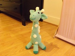 Ashley Sullivan (The Crochet Crowd) Tags: mikey giraffe redheart crochettoy mysteryadventure freeamigurumipattern mysterycrochetalong thecrochetcrowd michaelsellick freeonlinetutorial thecrochetcrowdcrochetalong freegiraffecrochetpattern freecrochetvideo