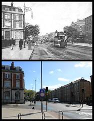 Bow Road (Tetramesh) Tags: tetramesh london england britain greatbritain gb unitedkingdom uk londër лондан лондон londres londýn londen lontoo λονδίνο londain londra londone londyn llundain londrez loundres londono londinium llondon lùndra bow localhistory nowandthen thenandnow pastandpresent oldlondon lostlondon presentandpast oldbow bowpastandpresent bownowandthen bowthenandnow londonpast londonboroughoftowerhamlets towerhamlets socialhistory uklocalhistory londonlocalhistory e3 bowroad fairfieldroad bowroadnt