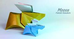 Moose (Laangen) Tags: berg paper origami moose rainer papier elch kawahata fumiaki