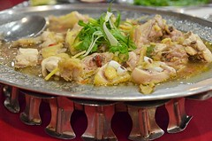 Steamed Ginger & Wine Chicken (J2Kfm) Tags: food fish restaurant malaysia seafood ipoh perak pasirputeh