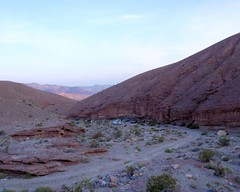 091 Telephone Canyon Campsite (saschmitz_earthlink_net) Tags: california cliff nationalpark desert wash deathvalley campsite mojavedesert 2014 inyocounty panamintrange telephonecanyon