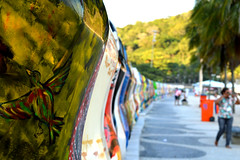 Buddy Bears (isabellabells) Tags: berlin art rio brasil de nikon janeiro bears buddy leme exposio ursos