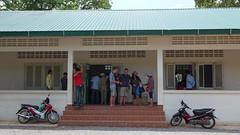 Prasat Preah Vehear's ticket office (entrance is free though). (SchoonbrodtB) Tags: temple lumix cambodge cambodia kambodscha 2014 preah  camboya  lx7 preahvihear vihear prasat