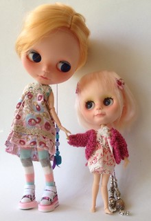 Custom blyh basaak dolls