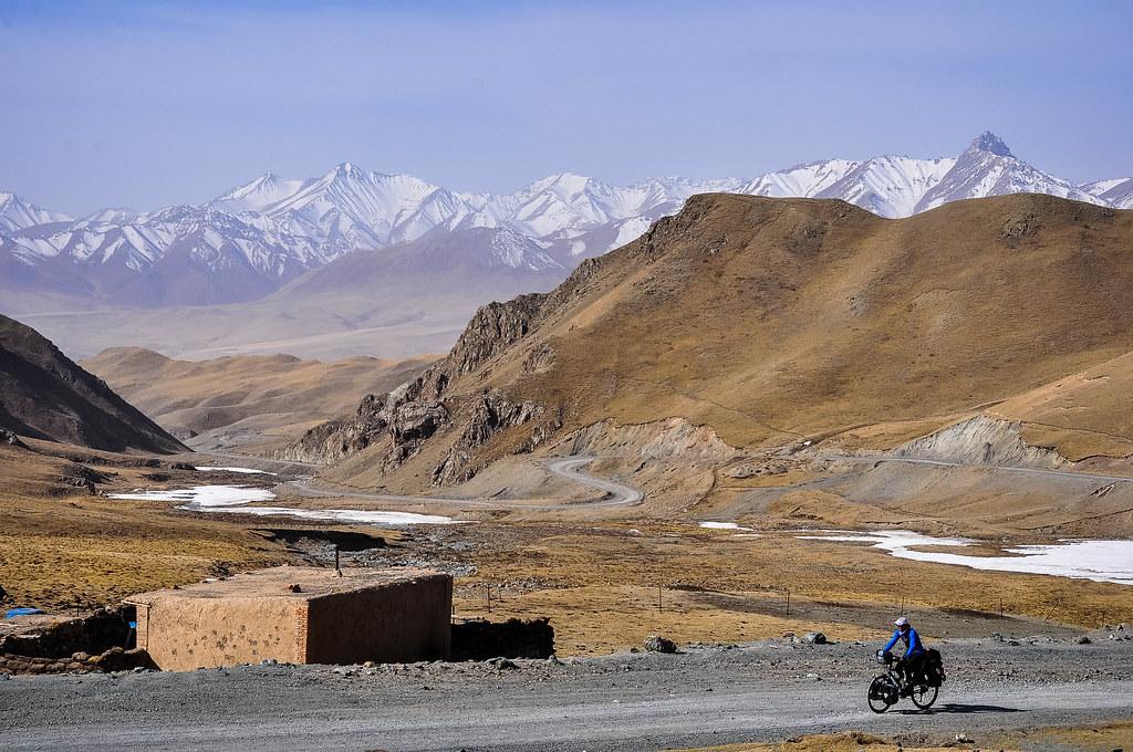 Crossing the Pass from Qinhai to Gansu