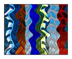 Dancing Wavy People (GAPHIKER) Tags: windows distortion abstract color reflection art facade buildings fun washingtondc washington dancing capital forms wavy hss happyslidersunday