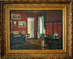 Kossuth's study in Turin with a herbarium cabinet. Kossuth torini dolgozszobja... (elinor04 thanks for 24,000,000+ views!) Tags: county building architecture painting hungary view cabinet decay style architect study frame mansion gilded turin decayed neoclassical 1810 herbarium 1813 kossuth dg festetics pollackmihly fejr englishlandscapegarden