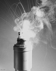 "Dual Coil ""Explosion"" (Storm_XL) Tags: storm electric rda cig e clones dual coil clone atomic sigaret sentinel cigaret 040 elektrische elektronische kloon dripper vape ecig kanthal"