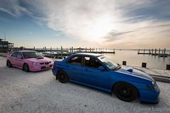 _ (Justin Lingohr) Tags: pink honda momo conversion interior fatty subaru stretched wrx sti ruckus wrb gy6 composimo