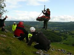 Dinbren Fallen Climber Rescue 2010