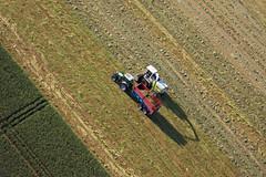 Ensilage (Les pieds dans le vide) Tags: france champs paysage 44 fra arienne paysdelaloire paramoteur survol abbaretz