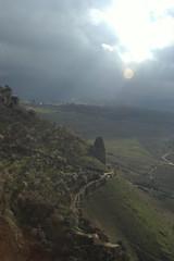 (gaddigad) Tags: cliff sun clouds spain pentax andalucia espana ronda rays k100d