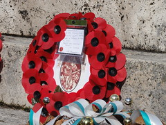 MSM wreath at Servigliano