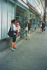 Vilia - Street (Kojotisko) Tags: street city people streets person czech streetphotography brno cc creativecommons czechrepublic streetphoto persons kodakgold kodakgold200 vilia
