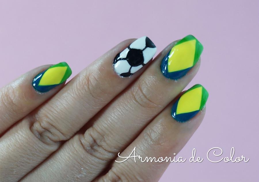 nail art mundial brasil4