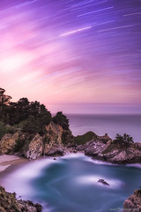 The Electric Kool-Aid Big Sur Test (Silent G Photography) Tags: california longexposure travel cali waterfall big pacific cove bigsur roadtrip pacificocean galaxy astrophotography sur centralcoast startrails californiacoast milkyway reallyrightstuff 2014 rrs bigsurcoast mcwayfalls travelphotography mcway bigsurcalifornia markgvazdinskas silentgphotography nikond800e silentgphoto
