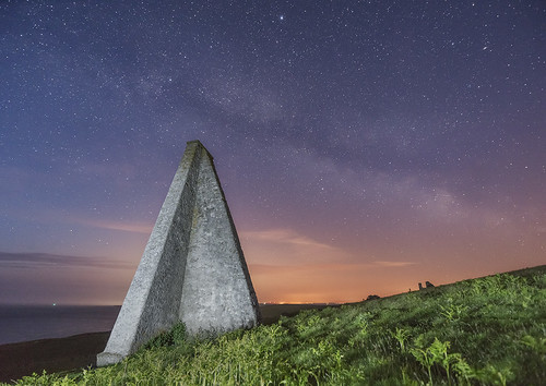 'Navigating The Night' - Carmel Head, Anglesey