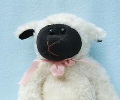 Violet (linda_lou2) Tags: black violet stuffedanimal lamb boydsbears stuffedlamb 365daysincolor blackwithanothercolor