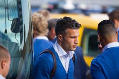 Robin van Persie (Marco van Zelst) Tags: people orange holland europa europe events nederland thenetherlands nh company event wk nl schiphol noordholland mensen knvb evenement bedrijf robinvanpersie evenementen