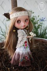 OOAK Custom Blythe Doll for Adoption.