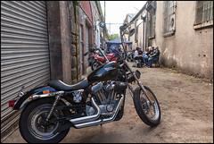 _MG_7579_2290 (sublevel3) Tags: club scotland glasgow motorcycles partying harley harleydavidson motorcycle rockabilly biker bikers goodtimes 5dmkii williegeemcc