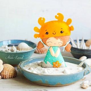 Niña cangrejo