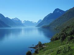 Hjørundfjorden (Mrs.Snowman) Tags: norway biking summerday hjørundfjorden