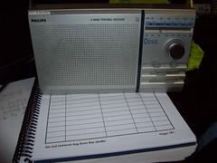 Philips D 2102 radio. (fpo22p) Tags: uk history television radio hospital studio log portable philips sheet electrical 1980s audio essex dovercourt lw transistor vhf mw fordhams