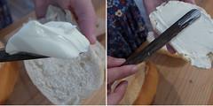 Pão chapado em casa (super_ziper) Tags: casa comida pão cozinha nhac padaria receita casquinha frigideira crocante pãonachapa requeijão superziper pãofrancês antiaderente pãochapado