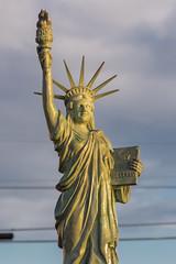 Alki Statue of Liberty (mfeingol) Tags: seattle beach alki statueofliberty