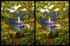 Seasonal Coloring 3D ::: DRi Cross-View Stereoscopy (Stereotron) Tags: 3d 3dphoto 3dstereo 3rddimension spatial stereo stereo3d stereophoto stereophotography stereoscopic stereoscopy stereotron threedimensional stereoview stereophotomaker stereophotograph 3dpicture 3dglasses 3dimage crosseye crosseyed crossview xview cross eye pair freeview sidebyside sbs kreuzblick twin canon eos 550d yongnuo radio transmitter remote control synchron in synch kitlens 1855mm tonemapping hdr hdri raw cr2 europe germany saxony sachsen dresden herbst autumn sun garden park fountain boat vacation vibrant colors indiansummer beautiful 100v10f
