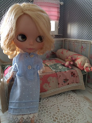 She loves her room...