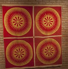 Sunburst 1870 Texas Quilt Museum Nov 2013 (mqumag) Tags: tqm