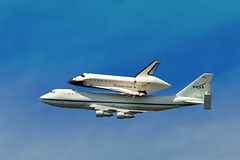 Space Shuttle Endeavor (ferglandfoto) Tags: shuttle spaceshuttleendeavor spaceshuttleendeavoroverjpl nasa