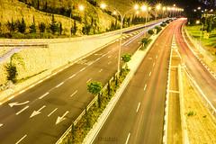 Rupin Interchange, Haifa (Happy Weekends) Tags: longexposure nightphotography canon nikon grand olympus photowalk fujifilm haifa lightstreak cameraporn xt1 neveshanan mirrorless grandkenyon xcameras rupininterchange fujifilmxt1 carmeltunnel pisgatkhen xf1855mm2856ois