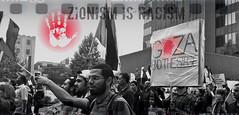 GAZA (Wendy J. Bush) Tags: ontario canada rally zionism racism genocide colonialism hamon zionismisracism hamont endthesiege freefreepalestine isupportgaza standsup4gaza israelisawarcriminal
