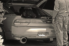 Father and Son (aaron_boost) Tags: hawaii 240sx t28 s13 sr20det aaronboost