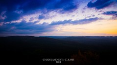 Sunset at Bear Mountain (Tempest Clue) Tags: travel sunset mountain newyork night landscape hiking hill bearmountain newyorkstate orangecounty rocklandcounty bearmt