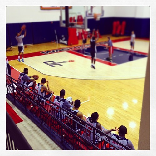 Monday's mini-campers, #Wizards.
