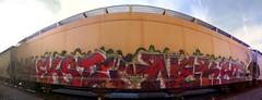 NEKST NEKST (FreightBreed666) Tags: train graffiti nekst ripnekst
