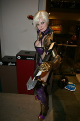 Sakura Con 2008 - 0310 (Photography by J Krolak) Tags: costume cosplay ivy masquerade soulcalibur sakuracon isabellavalentine ivyvalentine