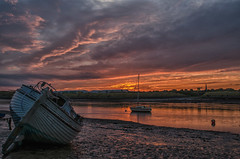 Walney Channel dawn (kidda63) Tags: