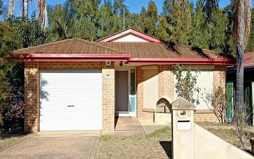 40 De Castella Drive, Blacktown NSW 2148