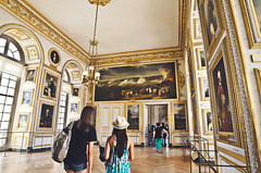 Versailles (KaraleeScouten) Tags: travel paris france building gold grand ceiling versailles