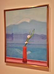 Mount Fuji And Flowers (ArtFan70) Tags: nyc newyorkcity flowers usa mountain ny newyork art japan america unitedstates centralpark manhattan mountfuji davidhockney met artmuseum hockney themet metropolitanmuseumofart paintiing mountfujiandflowers