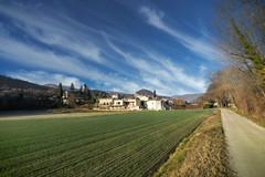 Perspectives - Curnier (26) - France (Romain VENOT) Tags: curnier drome france baronniesprovençales pnrbp parcnaturelrégional nikon d5300 champs villages clochers ciel nuages bleu vert route