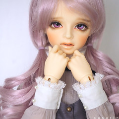 CUTE♡ (sasurin) Tags: volks michele 2nd sdgrg sdgr bjd superdollfie purple